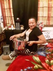Lupita Canseco was laid off from her job in March because of COVID and tried to make ends meeting selling her homemade food to friends and neighbors.