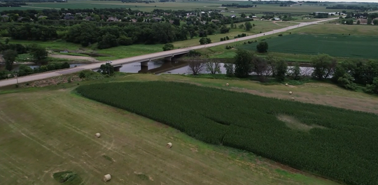 The Riverview Barn will overlook the Big Sioux River on the eastern edge of Sioux Falls at 2400 S. Riverview Ave.
