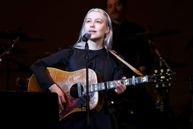 NEW YORK, NEW YORK - FEBRUARY 26: Phoebe Bridgers perform on stage during the 33nd Annual Tibet House US Benefit Concert & Gala on February 26, 2020 in New York City. (Photo by Ilya S. Savenok/Getty Images for Tibet House)