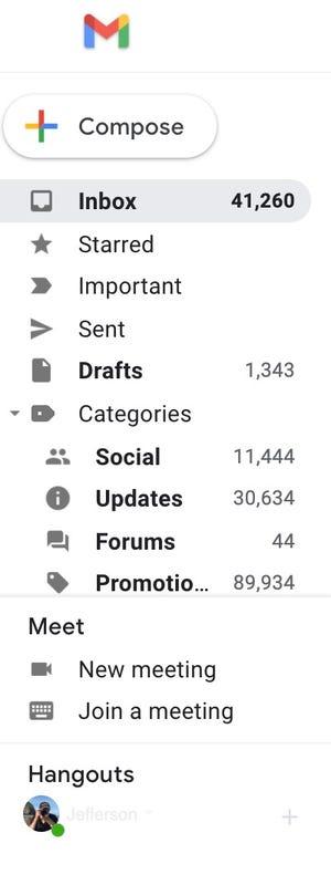 கூட்டங்களுக்கான Google Gmail