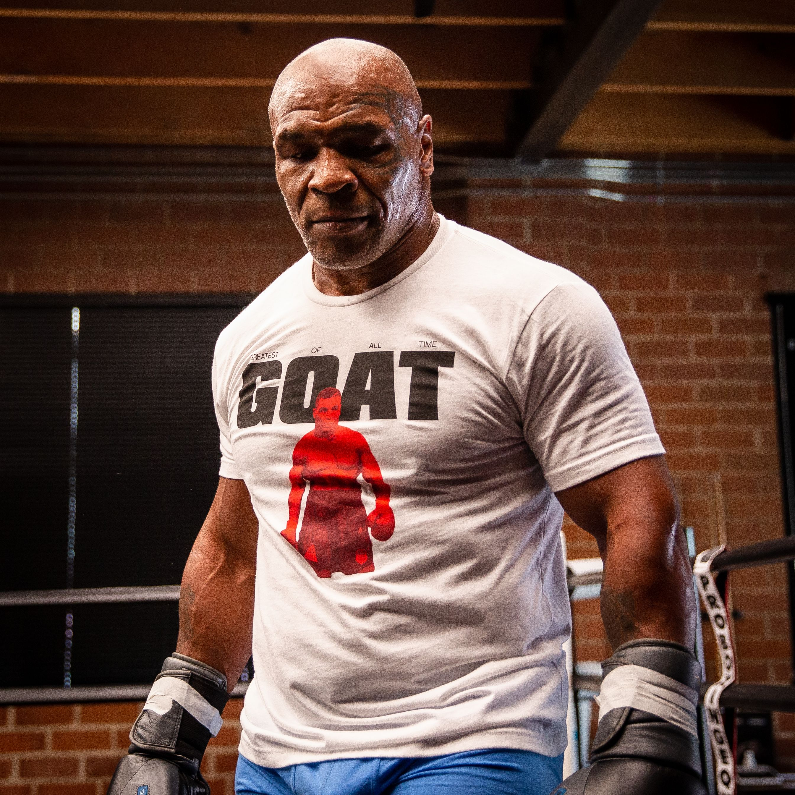 Mike Tyson returns to boxing at 54 on Saturday looking and sounding different