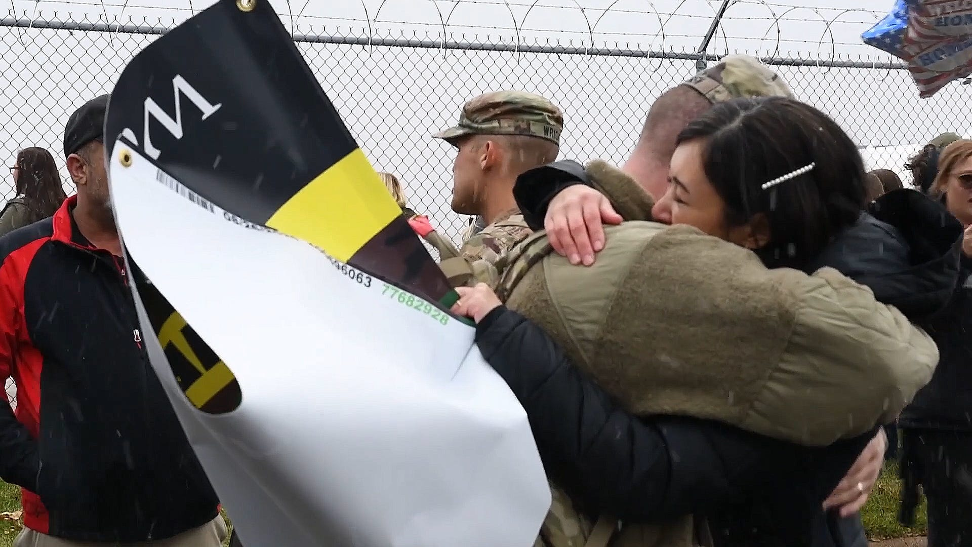 National Guard unit home for holidays