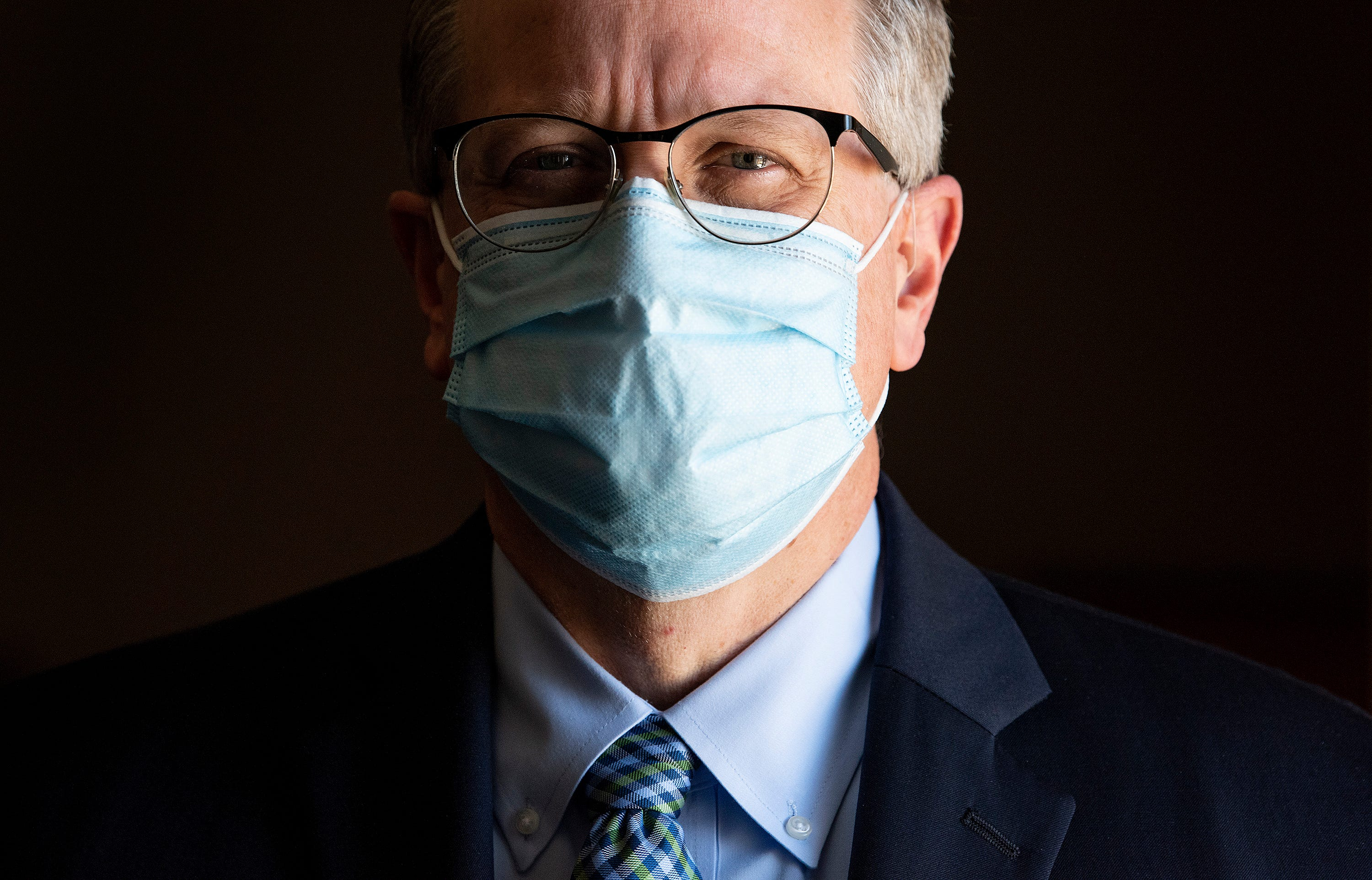 Dr. Scott Harris, Alabama's state health officer, says he saw politicization of the coronavirus beginning with the state's first official case in March.