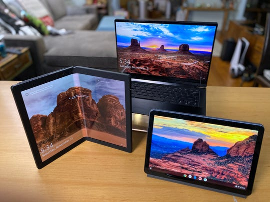 From futuristic foldables, like the new ThinkPad X1 Fold to stripped-down Chromebooks, and flexible 2-in-1 laptops that prop-up like a tent or lie flat like a tablet — computers in general, are having a bit of a comeback moment.