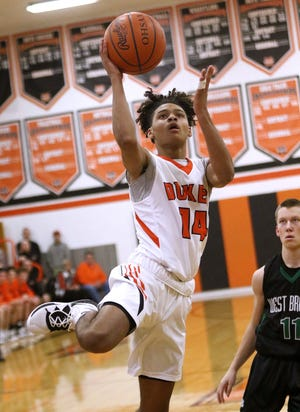 Marlington's Rome Sims will take on an expanded role with the Dukes after gaining varsity experience last season.