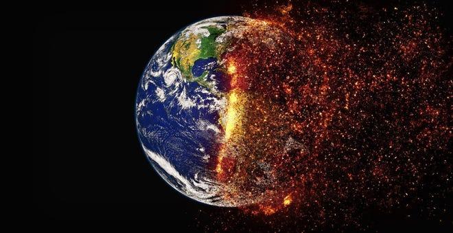 Climate change, fireball Earth
