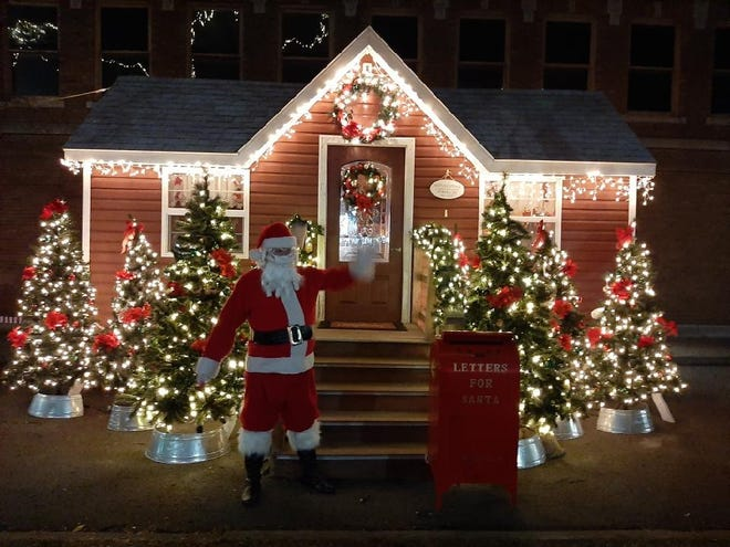 Santa stopped by the Maple City this week to check out his cottage on Main Street. He may be making another appearance in Hornell Saturday.