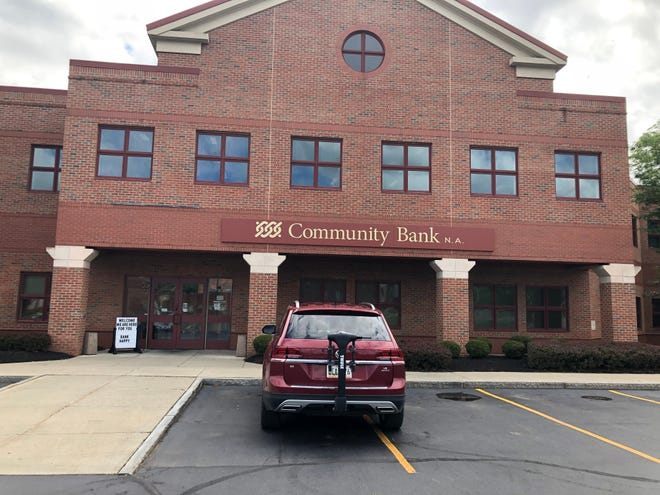 Community Bank branch lobbies are now available by appointment only, including locations with and without drive-thrus, effective Wednesday.