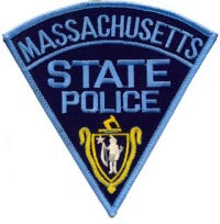 Massachusetts State Police patch.