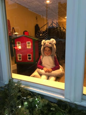 A Friday Night Lights' Living Windows will be held at 4 p.m. Nov. 27 at Beautifully Berkeley, 101 N. Main St., Stockton. Pictured: A living window display.