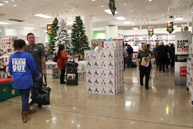 Stores in the South Plains Mall are a staple of Black Friday shopping for many around Lubbock.