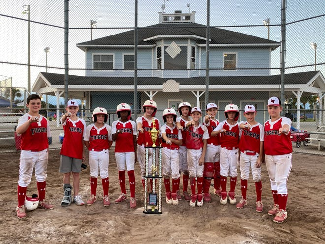 The Lakeland Tigers 11-under baseball team placed second at the USA Best of the Best tournament in Kissimmee earlier this month.