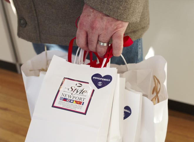 Shoppers were encouraged to Shop Local on Saturday in 2019.