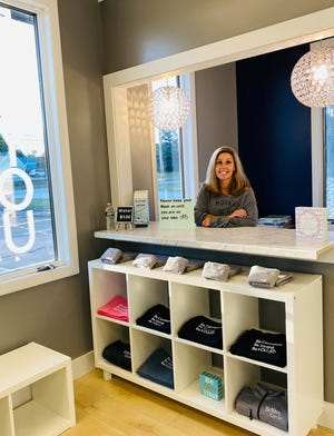 Elizabeth Wall, owner of BeYoutiful Salon in Portsmouth, started a cycling business with her former cycling instructor Meredith Dias.