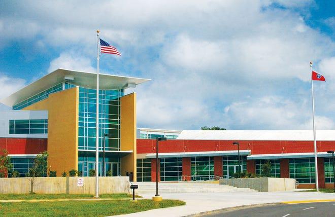 Oak Ridge High School after renovations.