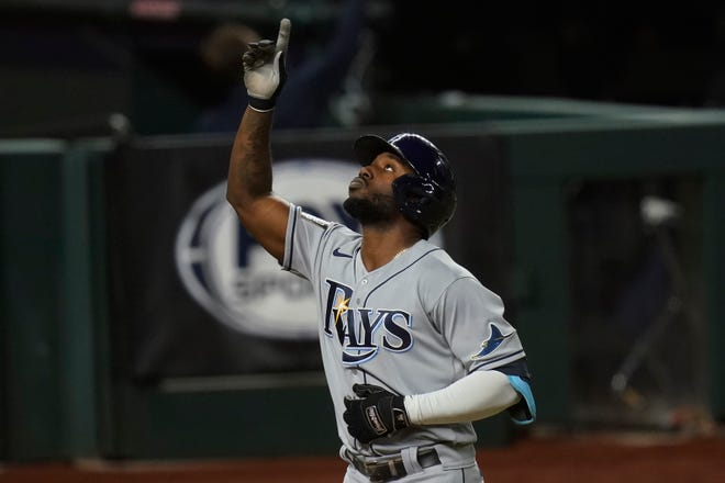 Tampa Bay Rays' Randy Arozarena has been arrested just two weeks after he won the Babe Ruth award for the Most Valuable Player in the postseason.
