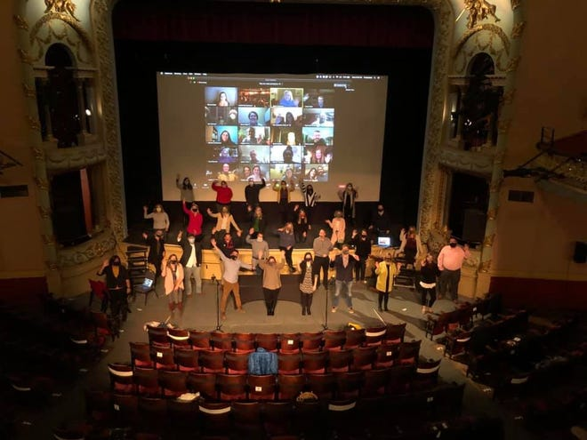 The Leadership Seacoast Class of 2020 graduated in a hybrid ceremony at The Music Hall during the coronavirus pandemic.