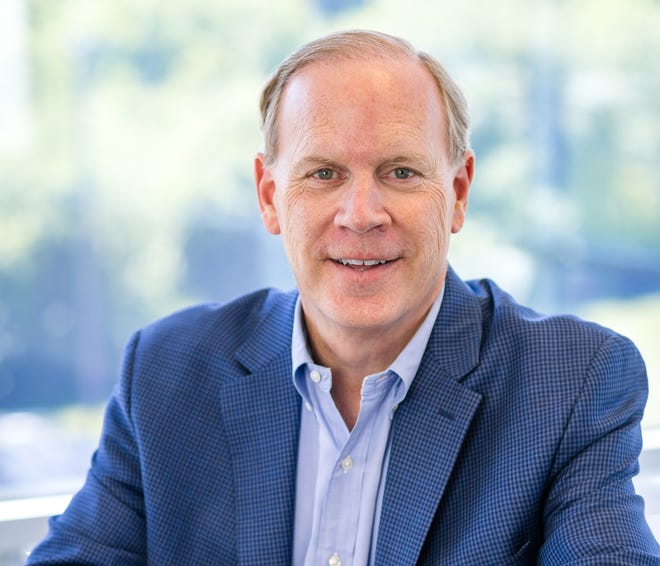 Robert O'Connor is president and CEO of Loftware, a Portsmouth company at Pease International Tradeport that is supplying the software and labels for distribution of some of the COVID-19 vaccines.