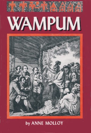 """The cover of """"Wampum"""" (1977), one of 22 books for children by Portsmouth author Anne Molloy."""