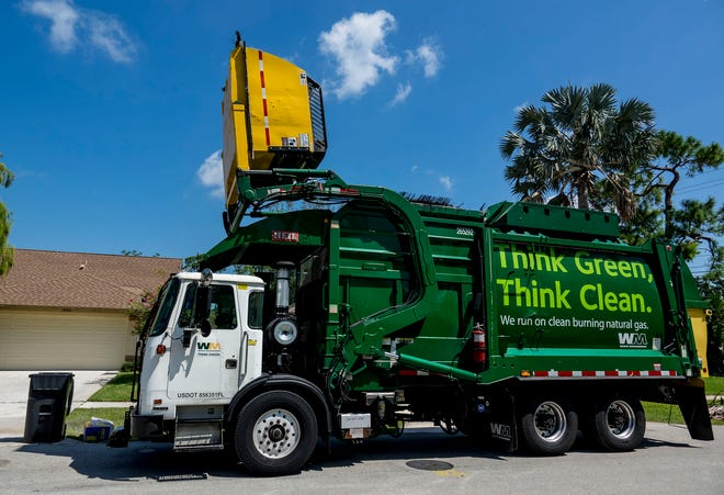 Waste Management and the Goode Companies have both submitted bids for Riviera Beach's five-year, $65 million solid waste contract.