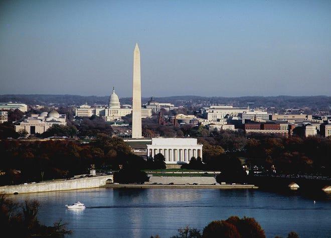 Washington, D.C., skyline. (Wikipedia Commons)