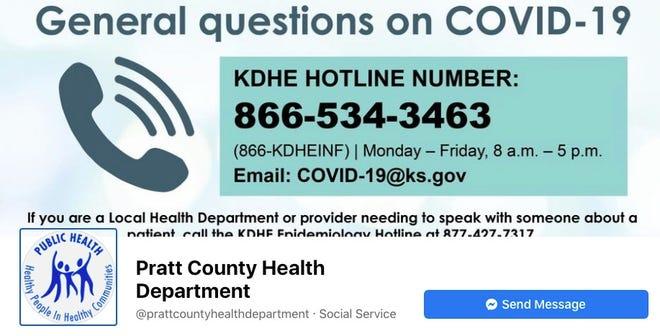 The Pratt County Health Department and Pratt County Health Officer Dr. Gene Cannata have issued a new mandate for public safety amid the COVID-19 pandemic that requires masks, social distancing and crowd limits during the next few weeks.