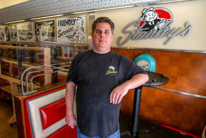 Louis Augusta, owner of Stanley's Famous Hamburgers, has launched a crowd-funding campaign to raise $25k to help save the restaurant.