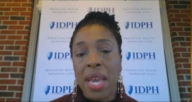 Dr. Ngoki Ezike, director of the Illinois Department of Public Health, says the state may receive significantly fewer doses of COVID-19 vaccines than it expected in the initial shipments, which could come before the end of the year.