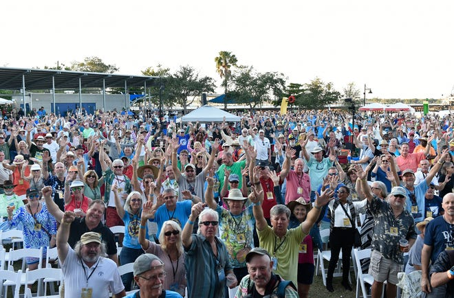 Bradenton Blues Festival is scheduled to return Friday through Sunday. However, it will move from its regular Riverwalk venue (pictured here) to Pittsburgh Pirates spring training stadium LECOM Park to allow for more social distancing. It's one of multiple changes made this year due to the ongoing pandemic.