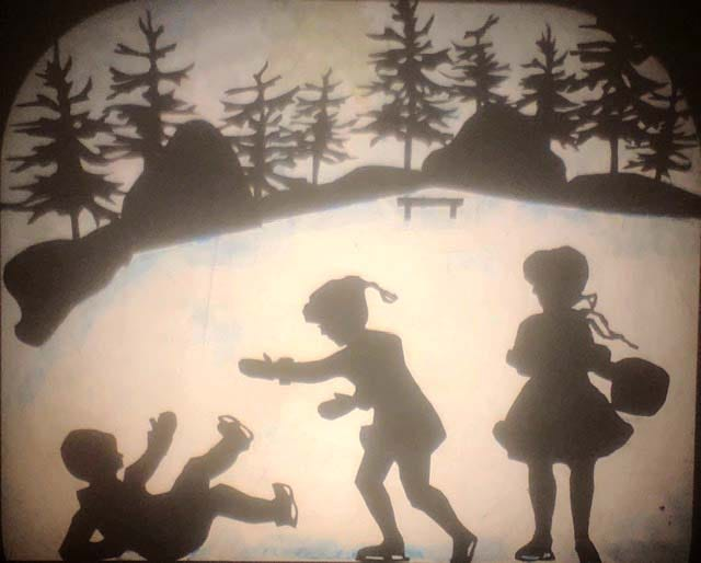 On weekends during the holiday season, the Stonington Historical Society will host a special family-centric performance featuring shadow puppets.