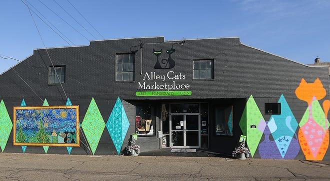 The Alley Cats Marketplace in New Philadelphia. (TimesReporter.com / Jim Cummings)