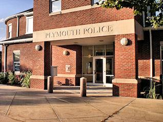 Plymouth police headquarters