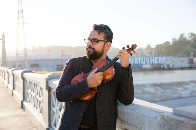 "Vijay Gupta will present ""The Medicine of Music,"" a 75-minute virtual conversation, violin performance, and Q&A session on Dec. 2."