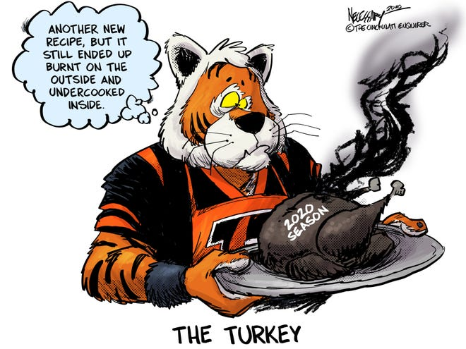 New recipe, same results for the Cincinnati Bengals.