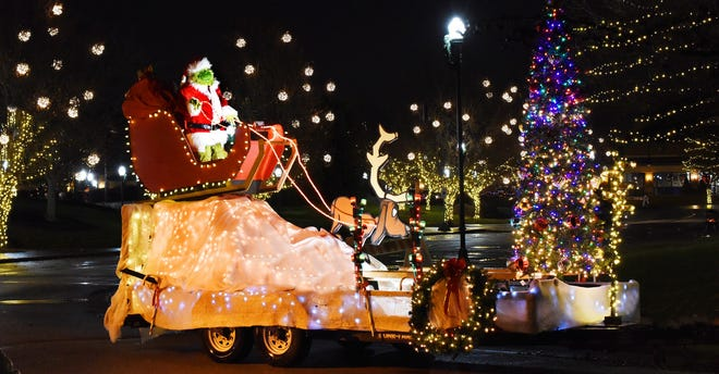 The Fairfield Parks and Recreation Department will have to defend its title in this year's drive-through parade against entries by other city departments after last year's Grinch stole the show as well as Whoville's Christmas.
