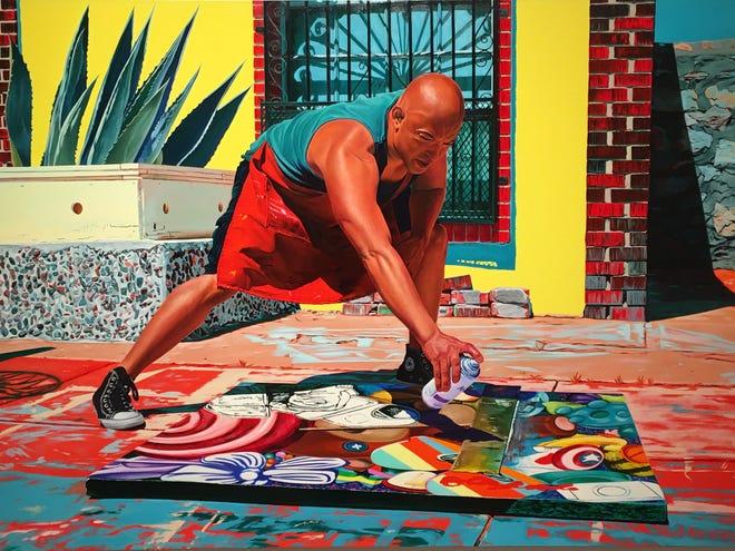 """""""Dalam Sehari Penuh"""" dibintangi ayah Marianna Olague, seorang guru seni."""