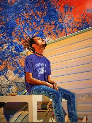 """""""Semuanya Menjadi Jiwa"""" oleh Marianna Olague di David Klein Gallery di Detroit."""
