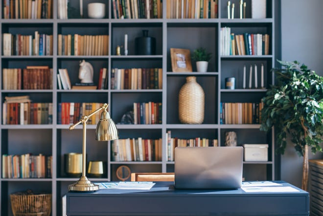 If your remote work is continuing for the long haul, it's time to upgrade your situation. Let the team from Baer's Furniture help. Credit: Getty Images