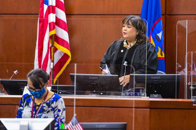 Chief Judge Frances Tydingco-Gatewood at the District Court of Guam in Hagåtña.