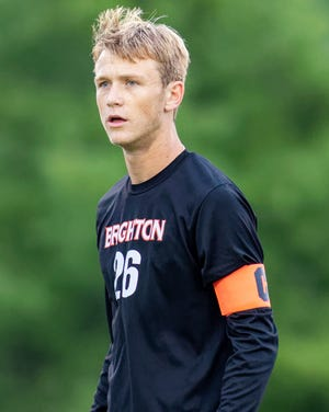 Brighton's Josh Adam is Livingston County's boys soccer Player of the Year for the second straight year.