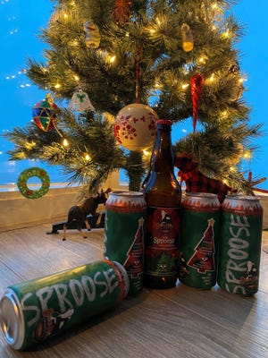 Black Husky Brewing made a special edition of its double IPA Sproose out of bows from Milwaukee's Christmas tree.