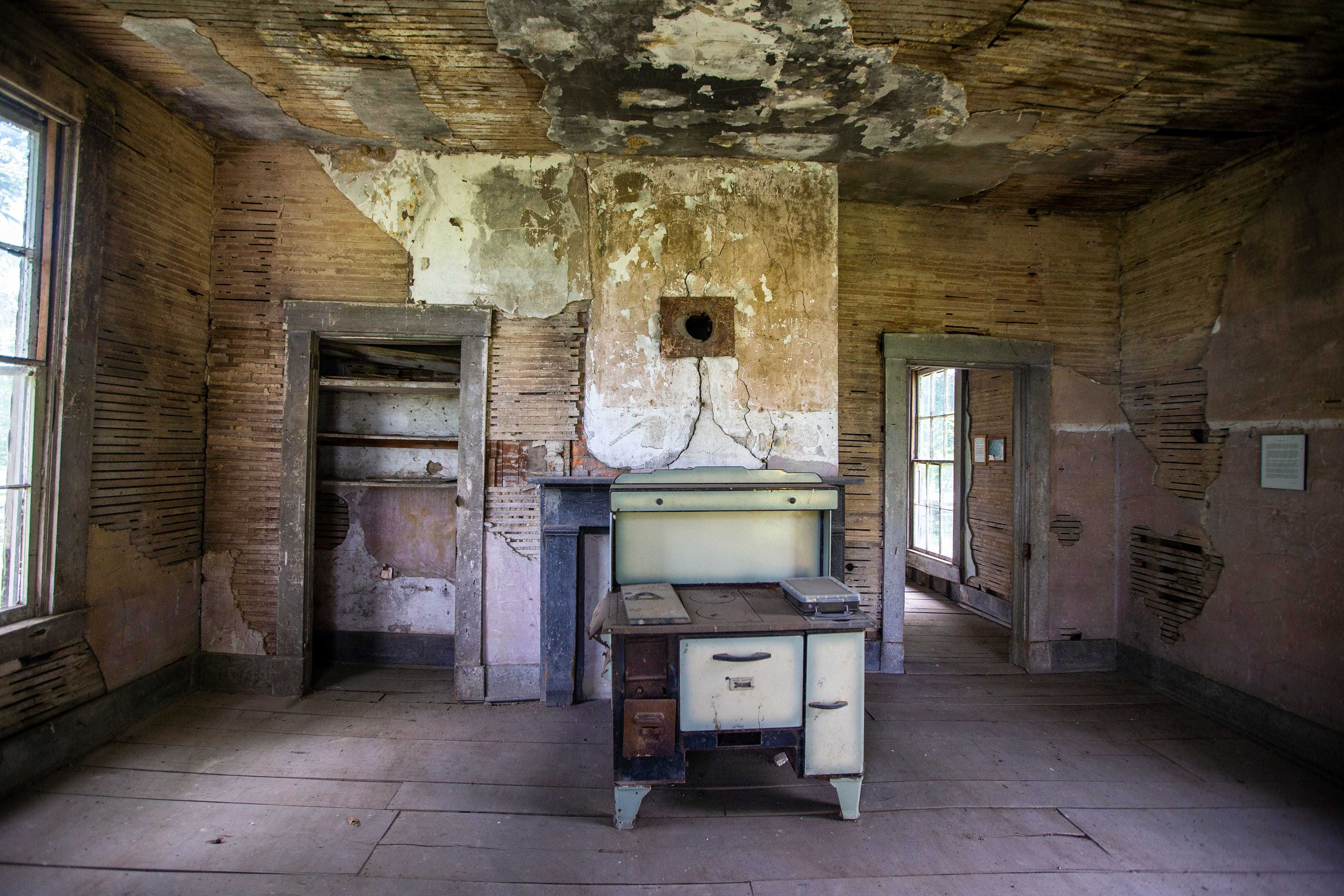 Historians believe Margaret Garner, an enslaved Black woman, worked in this two-room kitchen at the Maplewood Plantation in Boone County, Kentucky.