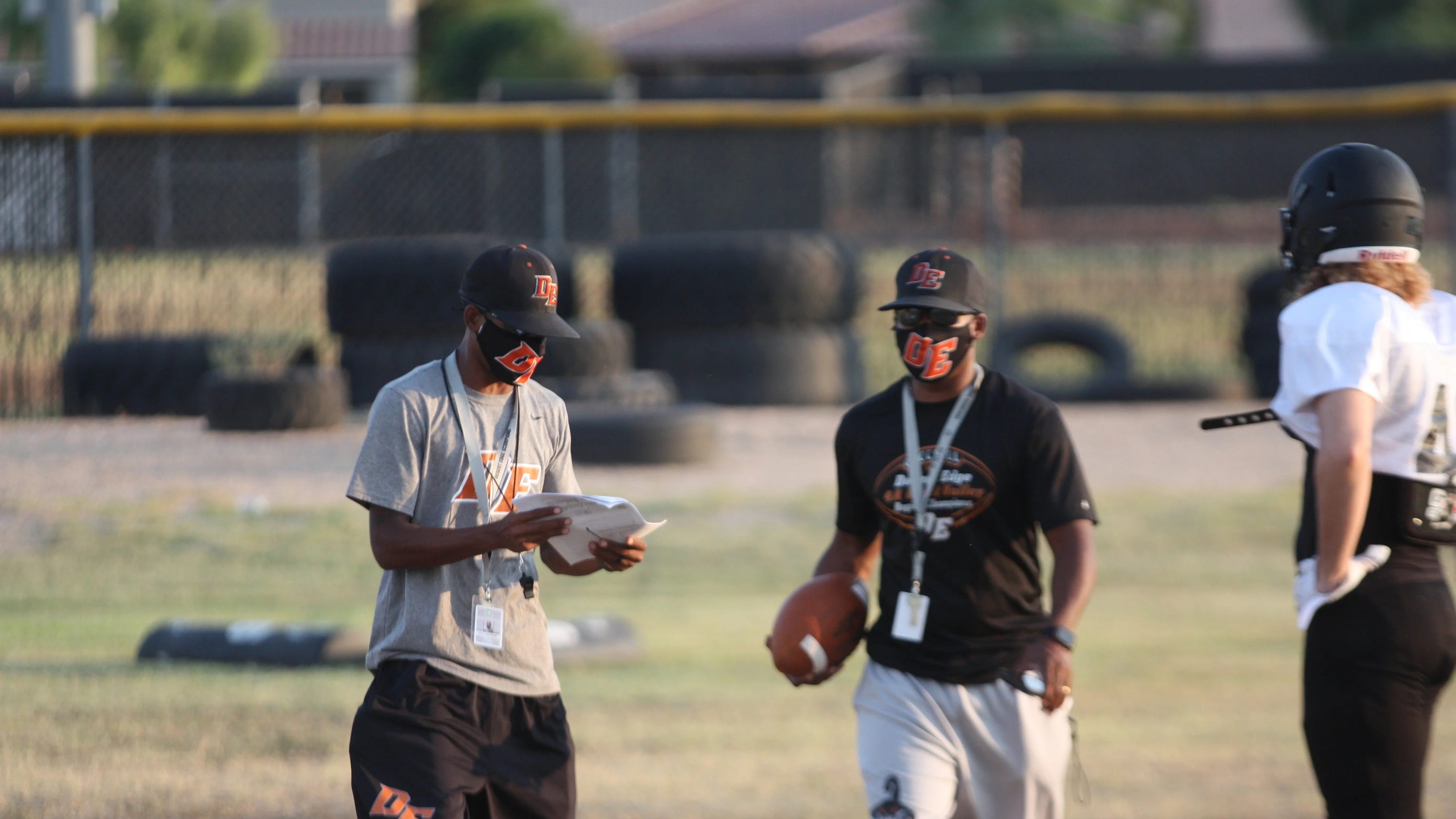 Desert Edge's Carter twins want to be first Black head coaches to win Open Division title