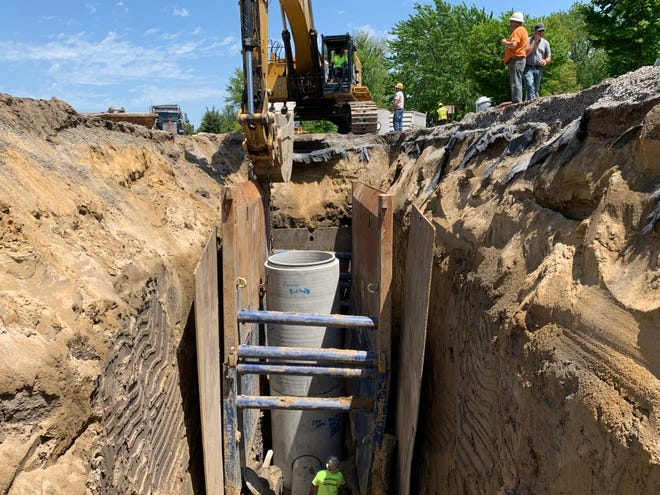 The final combined-sewer separation project was completed this fall. Officials said they can't lower water rates, but they expect them to plateau, which will limit increases in the future.