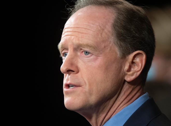 U.S. Sen. Pat Toomey, shown in a file image, said President Donald Trump should concede the election. (Rick Kintzel/The Morning Call/TNS)