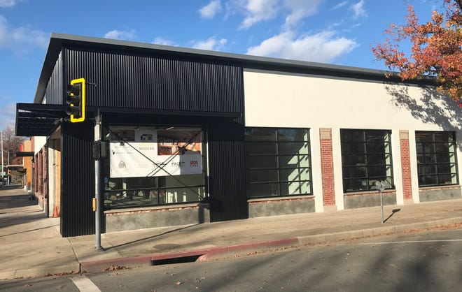 The outside of Bethel Music's new headquarters in downtown Redding. The label hopes to open the new location in the coming months.