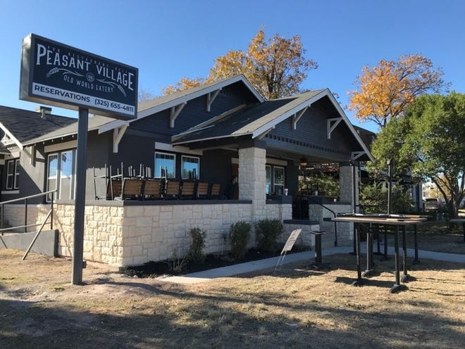 The newly remodeled Peasant Village Restaurant is shown Wednesday, Nov. 25, 2020. The restaurant is expected to reopen Tuesday, Dec. 8.