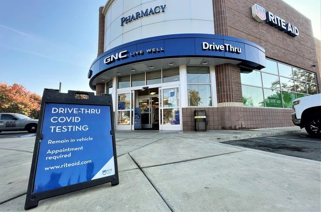 Visalia Rite Aid on Walnut Avenue is one of 301 COVID-19 testing sites.
