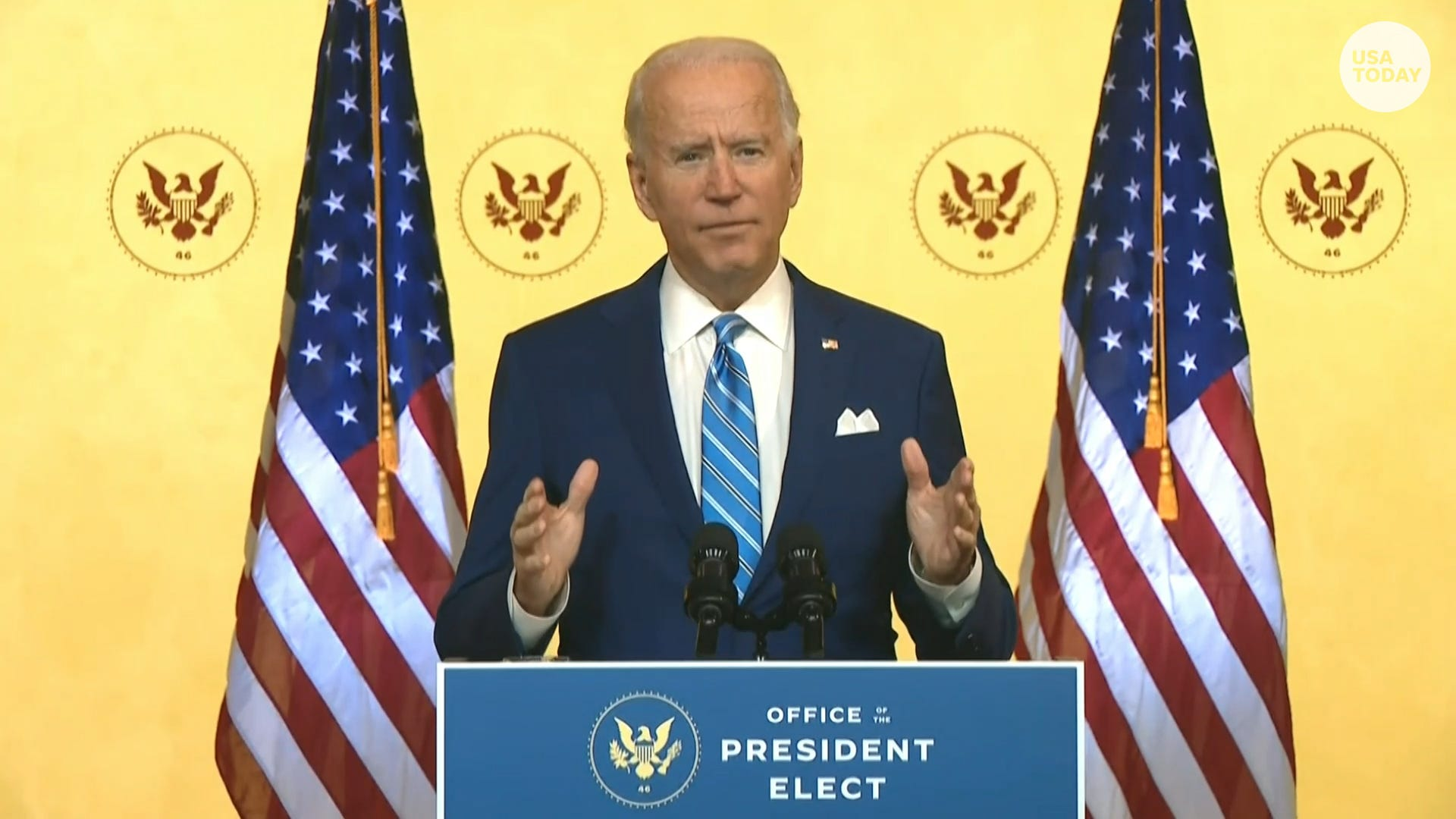 President-elect Biden says his family will have a 'separate Thanksgiving' due to COVID-19