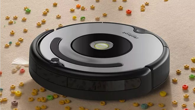 Black Friday 2020: iRobot Roomba 677 Wi-Fi Connected Robotic Vacuum.